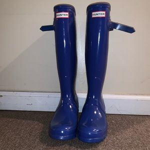 Royal Blue Hunter Rainboots